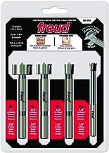 Freud 4 Pcs. Precision Shear™ Forstner Bit Set (PB-104)