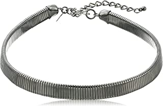 Kenneth Jay Lane Snake Chain Choker Necklace, 13