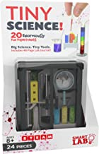 SmartLab Toys Tiny Science - 24 Pieces - 20 Experiments - Includes Travel Case and Instruction Book - 2018 Dr. Toy Best Picks
