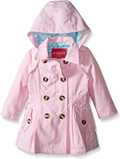 LONDON FOG baby-girls Lightweight Trench Dress Coat Jacket