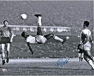 Pele Brazil Autographed 16