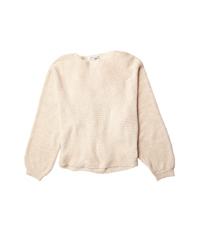 Cupcakes and Cashmere Sonrisa Rib Knit Dolman Sweater (Oatmeal) Women