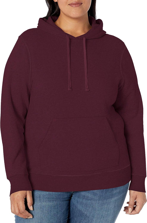 Amazon Essentials Women's Plus Size Fleece Pullover Hoodie