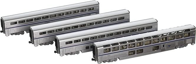 Kato N Scale Superliner 4 Car Passenger Set #B2 Amtrak Phase IVb
