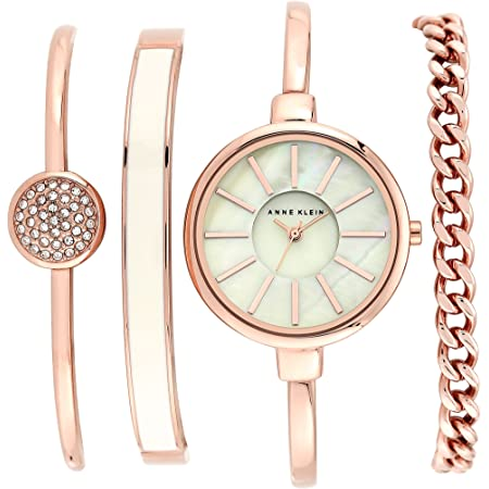 Anne Klein Women's Bangle Watch&Bracelet Set $53.37