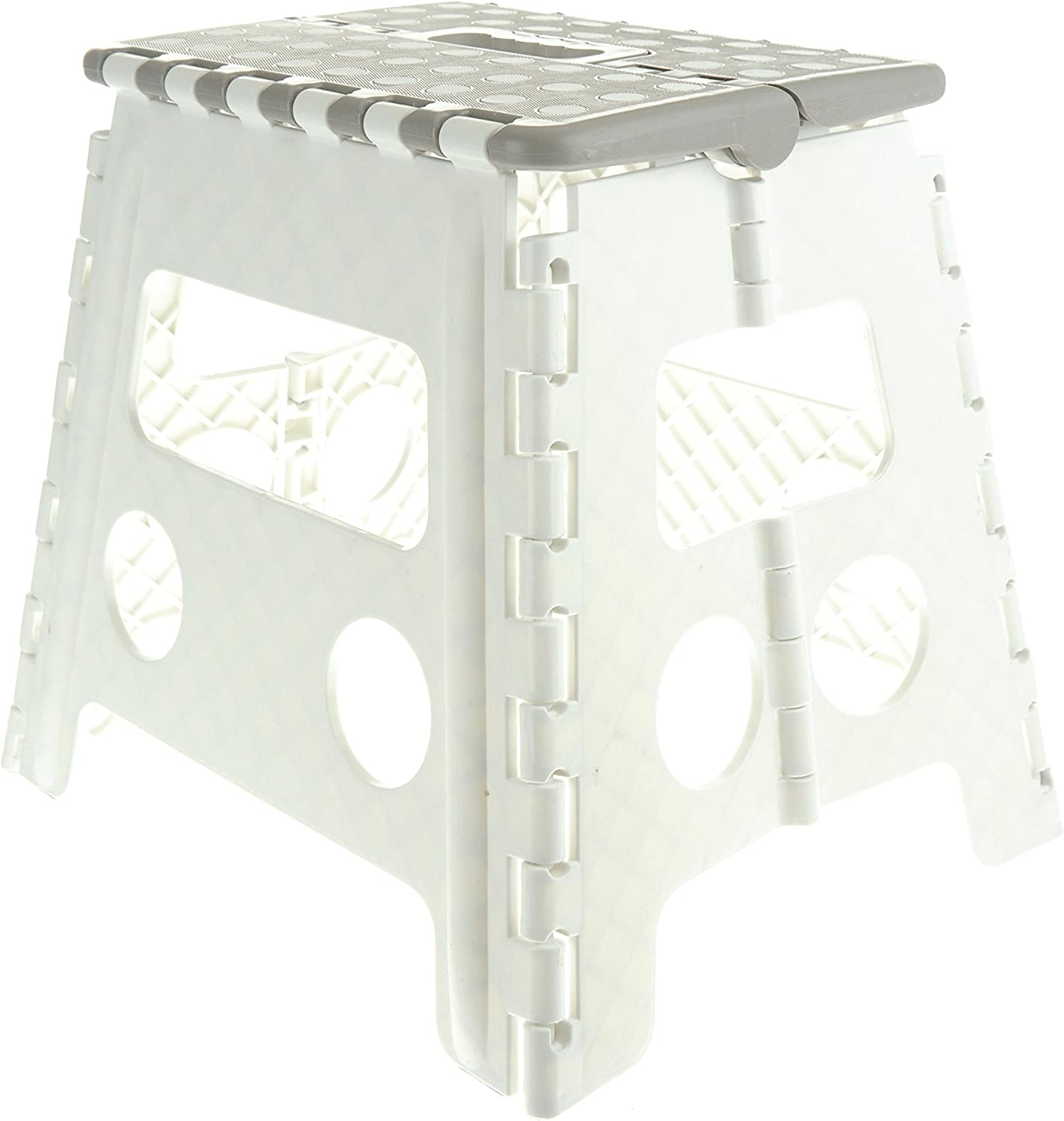 13 Non-Slip Foldable Step Stool with Carrying Handle - Supports Up ...