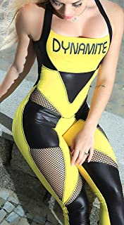 Dynamite Fitness Wear Brazilian Workout Jumpsuit - Explode Catsuit