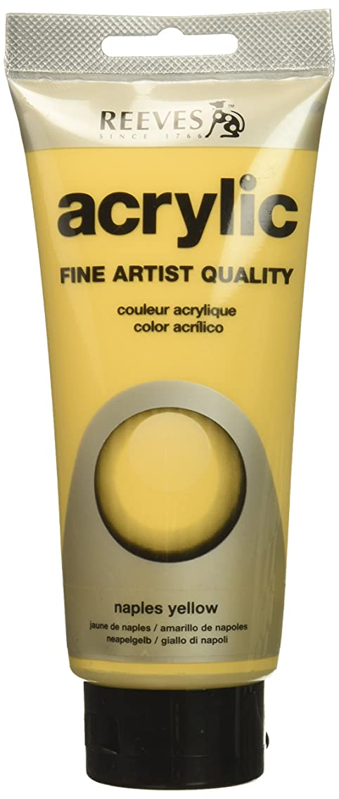 Reeves Acrylic Colour Tube, 200 ml, Naples Yellow tazldoj27