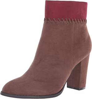 Athena Alexander Women's NANTES Ankle Boot, BROWN SUEDE, 6.5 M US
