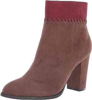 حذاء برقبة للكاحل للنساء من Athena Alexander ، بني SUEDE، 6. 5 M US