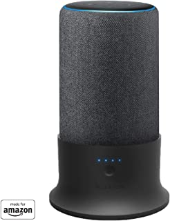Base batteria Mission per Amazon Echo Plus (seconda generazione) (nero)