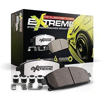 Power Stop Z26-1836 Front Z26 Street Warrior Carbon-Fiber Ceramic Brake Pads