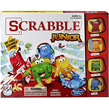 スクラブルジュニアゲーム Scrabble Junior Game 遊びながら英単語お覚える [並行輸入品]