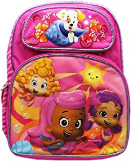 Full Size Pink Molly, Oona, and Deema Bubble Guppies Backpack