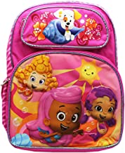 Nickelodeon Full Size Pink Molly, Oona, and Deema Bubble Guppies Backpack