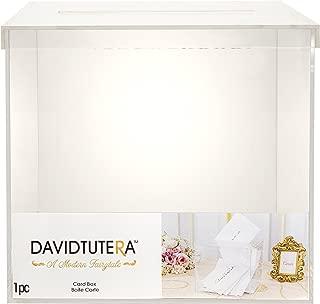 Darice David Tutera Clear Acrylic Card Box