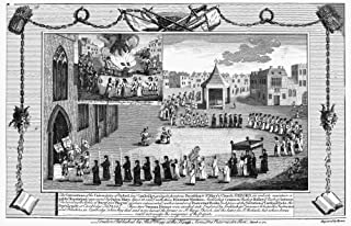 Oxford Martyrs 1556 Nprocession In Oxford England Of Queen MaryS Representatives Meeting To Interrogate The Protestant Bishops Thomas Cranmer Nicholas Ridley And Hugh Latimer April 1555 Copper Engravi