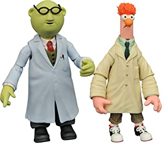 Diamond Select Toys The Muppets: Beaker & Bunsen Honeydew Select Action Figure (2 Pack)