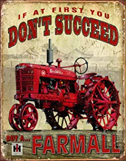 Best antique farmall sign Reviews
