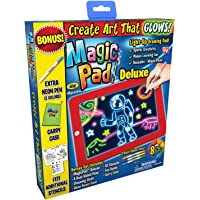 Magic pad Light up LED Drawing Tablet w/ Accessories