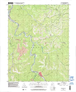 YellowMaps Sylvester WV topo map, 1:24000 Scale, 7.5 X 7.5 Minute, Historical, 1996, Updated 2002, 27.4 x 22.5 in