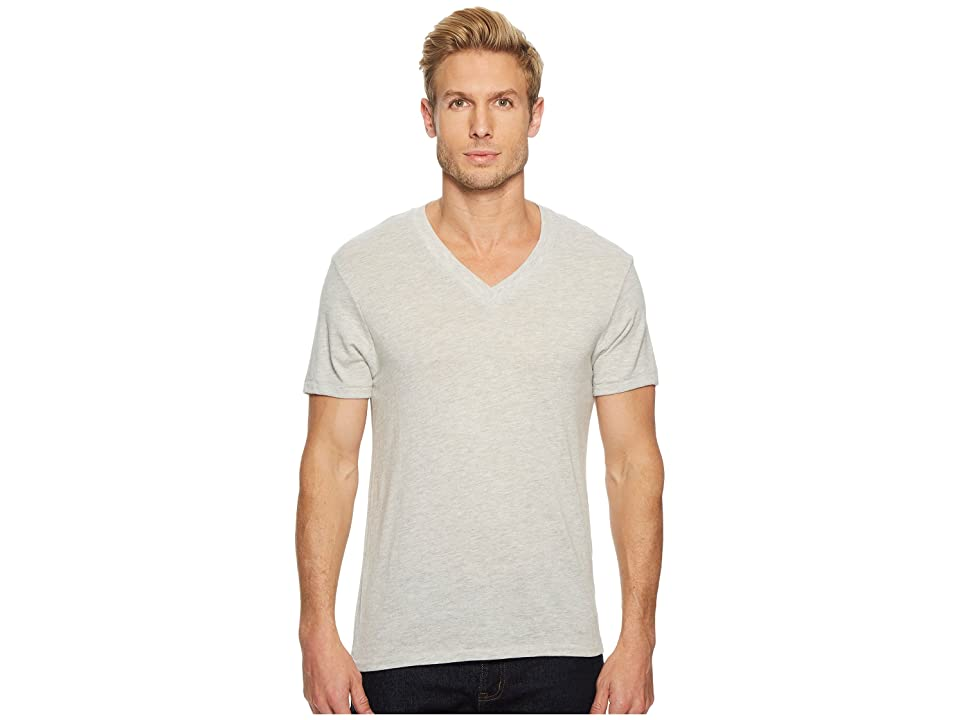 Alternative Boss V-Neck Tee (Eco Oatmeal) Men