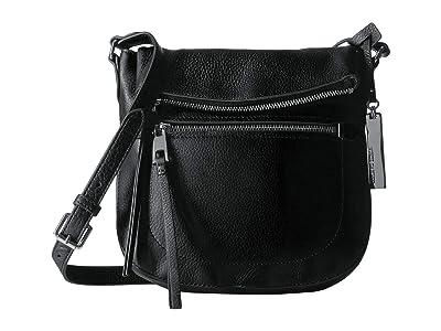 Vince Camuto Tala Crossbody (Nero) Handbags