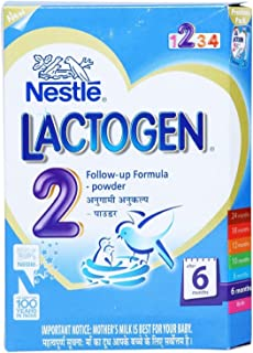 Nestle Lactogen Stage 2 (After 6 Months) Follow-up Formula Powder 400g (Faster Shipping Service)