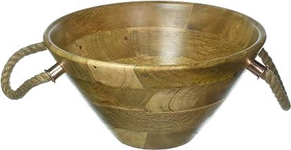 وعاء سلطة خشبي مانجو N356 من ثيرستيستون، مقاس واحد، بني