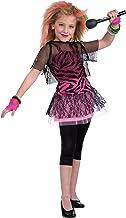 Forum Novelties 80's Rock Star Child Girl's Costume, Medium