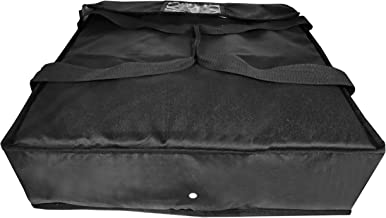 Brandzini Insulated Pizza Delivery Bag 20-Inch by 20-Inch by 6-Inch