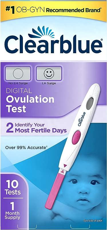 Clearblue Digital Ovulation Test 10 Ovulation Tests