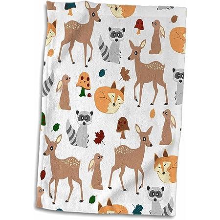 3D Fox Wild Nature Orange Animal Pet Holiday Beach Bath Summer Towel