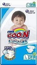 Elleair GOO.N Diaper (with tape straps) Size: L (x54)
