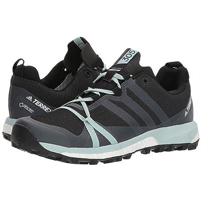 adidas Outdoor Terrex Agravic GTX(r) (Carbon/Grey Three/Ash Green) Women