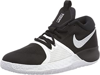 Nike Zoom Assersion (gs), Boys Basketball, Mehrfarbig (Black/White 001), 5.5 UK (38.5 EU)
