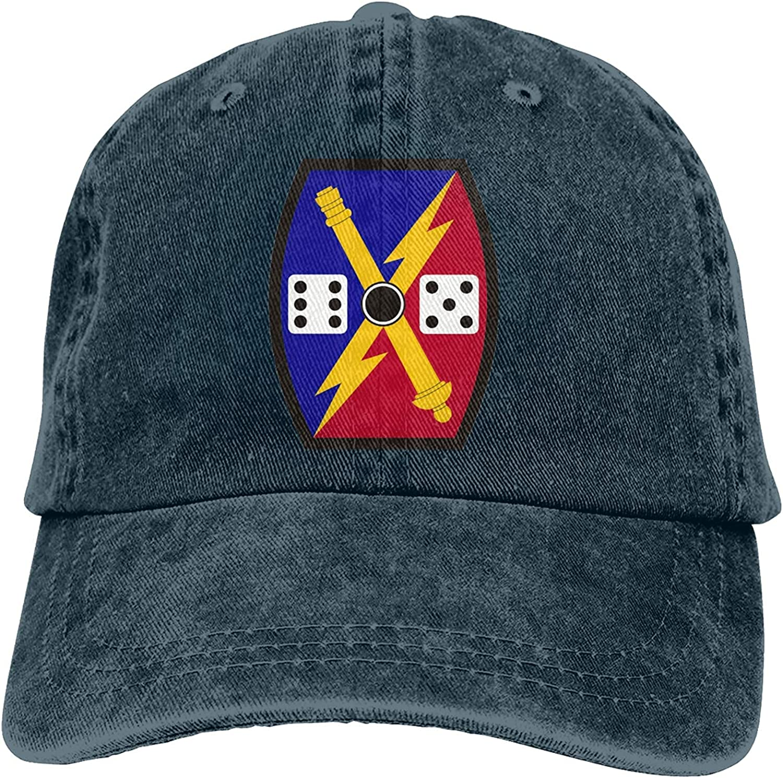 HHIJ 65th Fires Brigade Unisex Adult Denim Hats Cowboy Hat Dad Hat Driver Cap