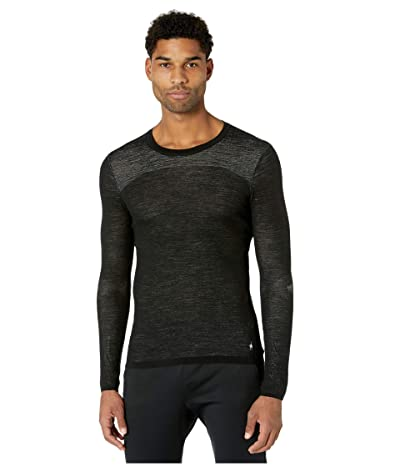 Smartwool Intraknit Merino 200 Crew (Black/White) Men