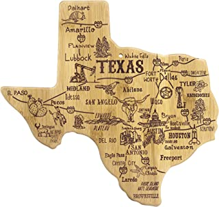 Totally Bamboo Texas State Destination Bamboo Serving and Cutting Board