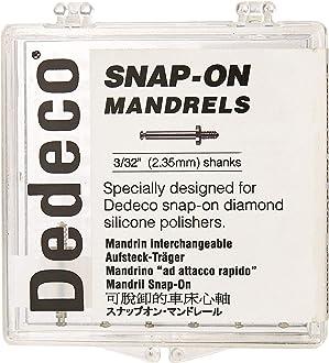 Pack of 12 Dedeco 5426 Stainless Steel RA Mandrels