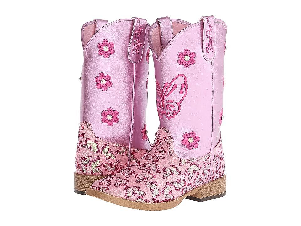 M&F Western Kids Pecos (Little Kid) (Pink) Cowboy Boots