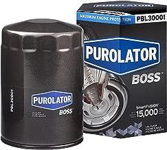 Purolator PBL30001 Black Single PurolatorBOSS Maximum Engine Protection Spin On Oil Filter