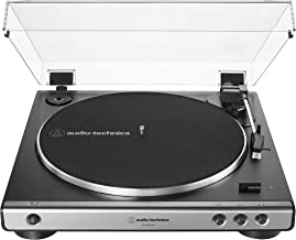 Audio-Technica AT-LP60XUSB-GM Fully Automatic Belt-Drive Stereo Turntable (Analog & USB), Gunmetal, Hi-Fidelity, Plays 33 ...