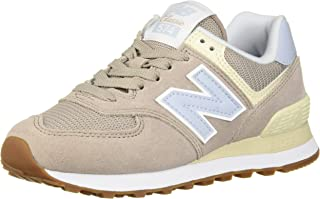New Balance Women's 574v2 Sneaker, Flat White, 6.5 B US