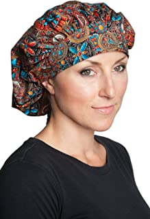 Banded Bouffant Scrub Hats - Made in USA