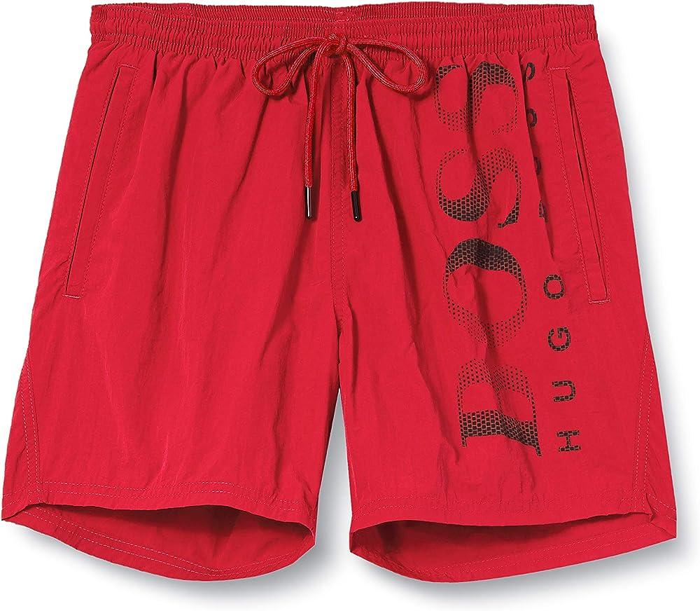 Hugo boss ,costume da bagno a pantaloncini per uomo ,100% poliammide 50371268R