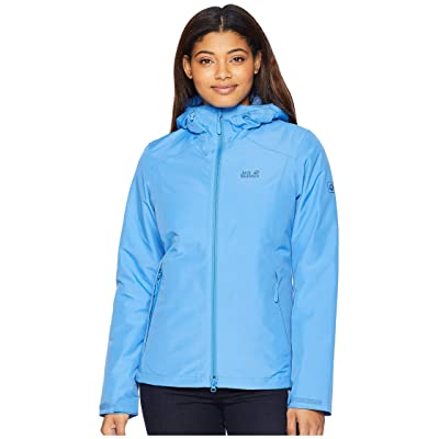 Jack Wolfskin Chilly Morning Waterproof Jacket (Zircon Blue) Women