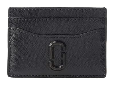 Marc Jacobs Snapshot DTM Card Case (Black) Credit card Wallet