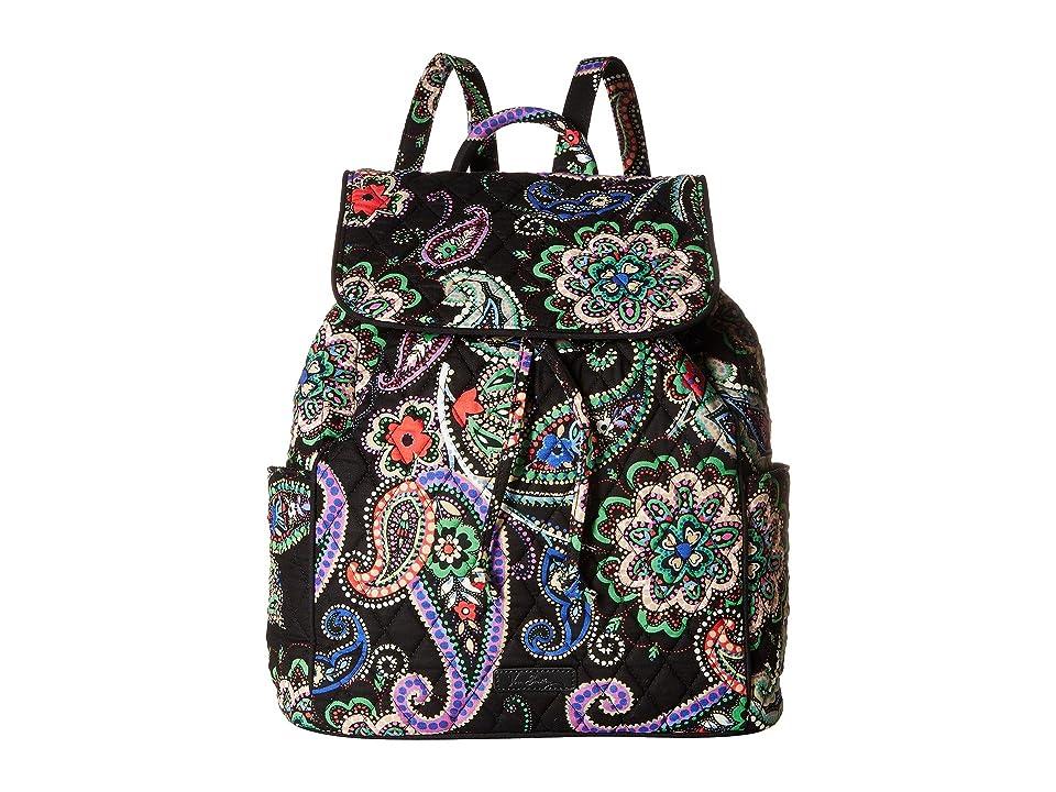 Vera Bradley Drawstring Backpack (Kiev Paisley) Backpack Bags