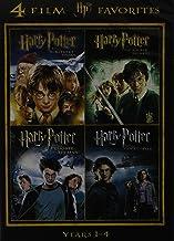 Harry Potter Years 1-4: Sorcerer's Stone / Chamber of Secrets / Prisoner of Azkaban / Goblet of Fire
